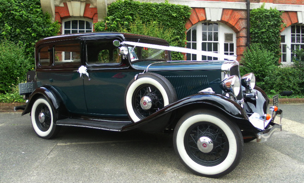 1933 Rockne Studebaker - Wedding Car Hire Kent
