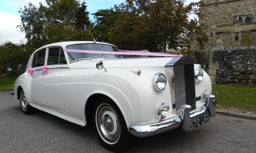 1959 Rolls Royce Silver Cloud I Classic Wedding Car Hire Kent