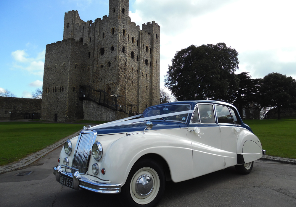 Armstrong Siddeley Sapphire Wedding Car Hire Kent
