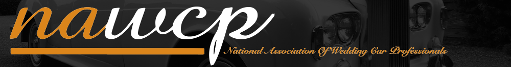 Member of the national association of wedding car professionals