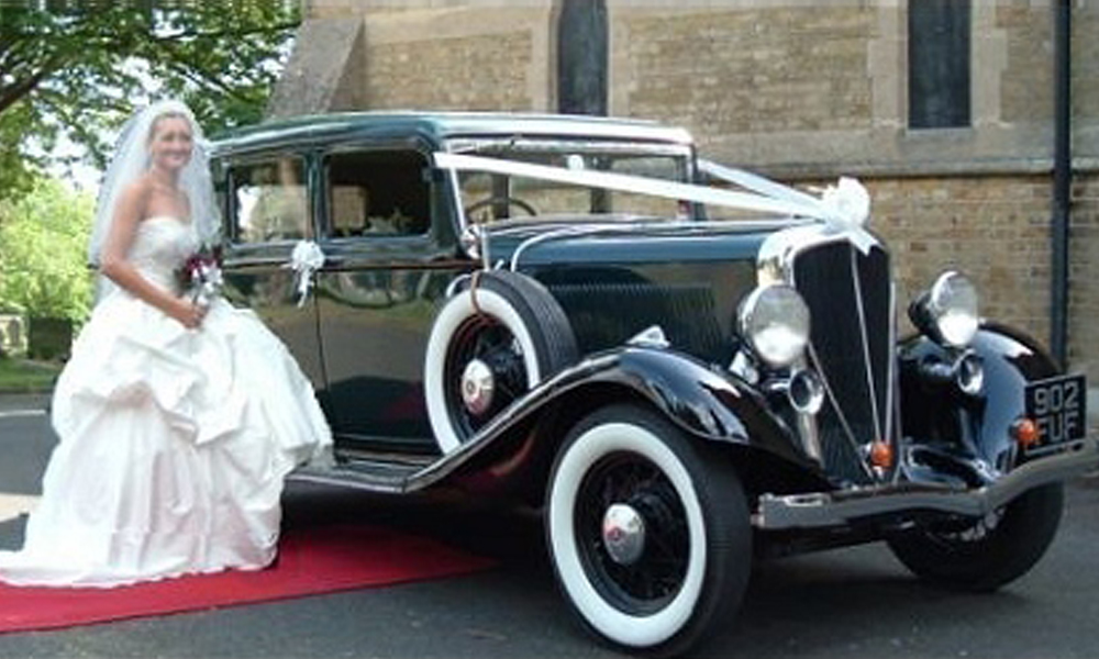 1933 Rockne Studebaker Vintage Wedding Car Hire Kent